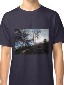 Sun Shining Through Trees Classic T-Shirt