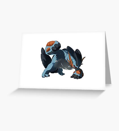 Pokemon - Mega Swampert Greeting Card