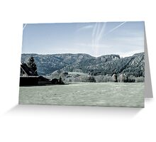 Landscape imagery Greeting Card