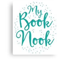 My book nook Canvas Print