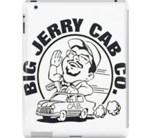 Big Jerry Cab CO. iPad Case/Skin