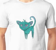 4 Eyed Spooky Cat Unisex T-Shirt