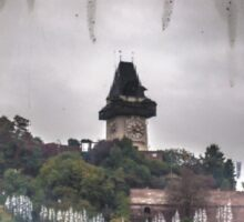 Uhrturm Graz Sticker