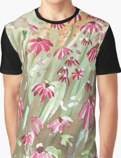 Daisy fields Graphic T-Shirt