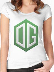 OG dota 2 Women's Fitted Scoop T-Shirt