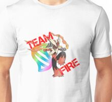 Pokemon - Team Fire - Blaziken Unisex T-Shirt