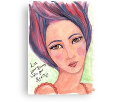 Dream Girl - Let Your Dreams Inspire Your Reality Canvas Print
