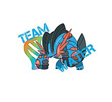 Pokemon - Team Water - Swampert Photographic Print