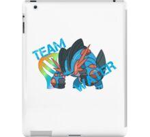 Pokemon - Team Water - Swampert iPad Case/Skin