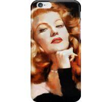 Rita Hayworth iPhone Case/Skin