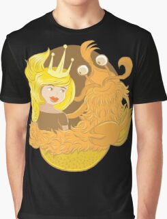 sweet merlady and crab man Graphic T-Shirt