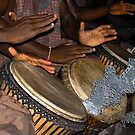 Hands to Drums Hearts to God  by Wayne King