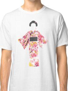 KIMONO in cherry blossom Classic T-Shirt