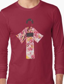 KIMONO in cherry blossom Long Sleeve T-Shirt