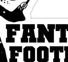 Fantasy Football Funny T-Shirt Sticker