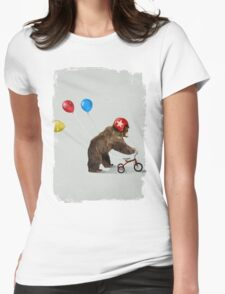 My first bike Womens Fitted T-Shirt