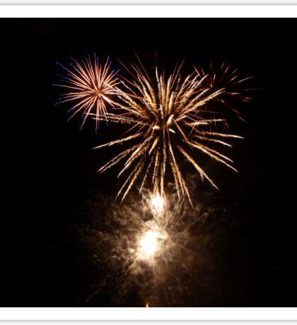 Burst of Fireworks Sticker
