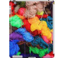 Colorful Yarn iPad Case/Skin