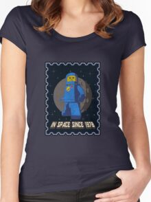 In space since 1978 BLUE Women's Fitted Scoop T-Shirt
