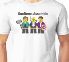 SocDems Assemble! Unisex T-Shirt