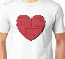 Paper Heart (Red) Unisex T-Shirt