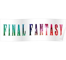 Final Fantasy (Funko Version) Poster