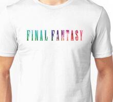 Final Fantasy (Funko Version) Unisex T-Shirt