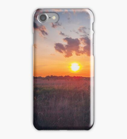 Sunrise in MidWest iPhone Case/Skin