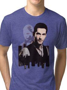 Lucifer Morningstar Tri-blend T-Shirt