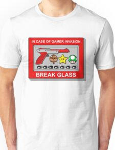 In case of Gamer Invasion Unisex T-Shirt