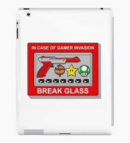 In case of Gamer Invasion iPad Case/Skin