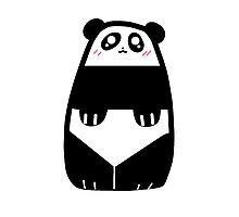 Cute Panda Blob Photographic Print