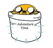 Adventure Time Jake Photographic Print
