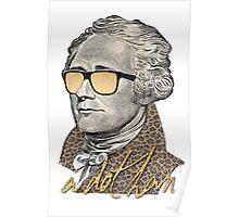 Alexander Hamilton - A dot Ham Poster