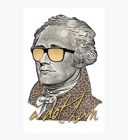 Alexander Hamilton - A dot Ham Photographic Print