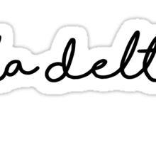Adpi handwriting Sticker