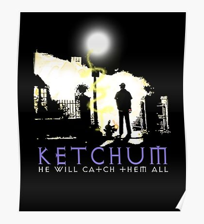 Ketchum Devil Hunter Poster