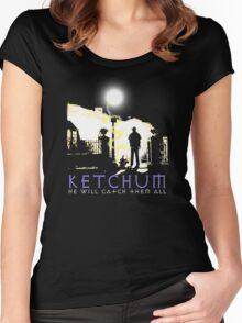 Ketchum Devil Hunter Women's Fitted Scoop T-Shirt