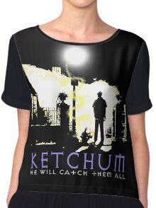 Ketchum Devil Hunter Chiffon Top