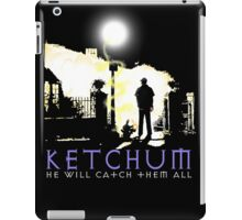 Ketchum Devil Hunter iPad Case/Skin