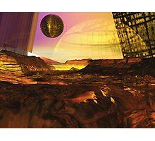 Alien Landscape #1 Photographic Print