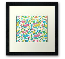 Back to the Doodles Framed Print