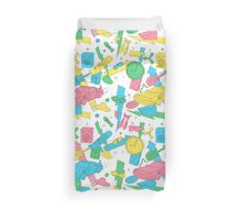 Back to the Doodles Duvet Cover