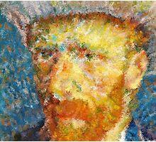 Vincent van Gogh Generative Portrait Photographic Print
