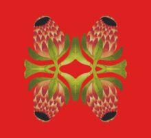 Floral symmetry Kids Tee