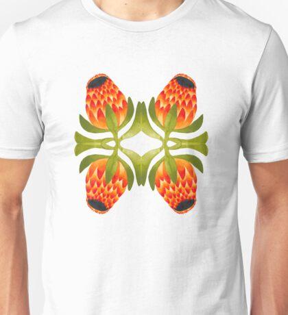 Floral symmetry Unisex T-Shirt