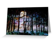 The Glory Of The Sky.. Greeting Card