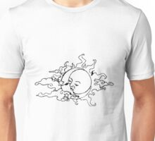 Moon & The Sun Black. Unisex T-Shirt