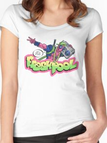 Fresh Pool (cool colors) Women's Fitted Scoop T-Shirt