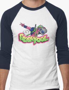 Fresh Pool (cool colors) Men's Baseball ¾ T-Shirt